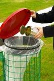 Caixote de lixo   Imagens de Stock Royalty Free