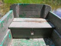 Cajón bloqueado bajo asiento Fotos de archivo