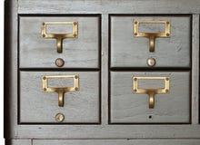 Cajón de la cabina imágenes de archivo libres de regalías