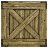Cajón de madera Fotos de archivo libres de regalías
