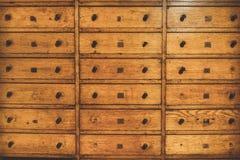 Cajón de madera del vintage Fotografía de archivo libre de regalías