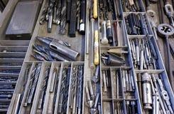 Cajón y porciones de herramientas Imágenes de archivo libres de regalías