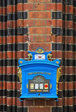 Caja alemana del poste del viejo vintage en Francfort Oder, Alemania Fotos de archivo libres de regalías