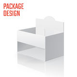 Caja blanca 56-03 Foto de archivo