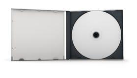 Caja CD Fotos de archivo