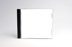Caja cd en blanco aislada Fotografía de archivo libre de regalías