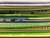 Caja colorida de la almohada Foto de archivo