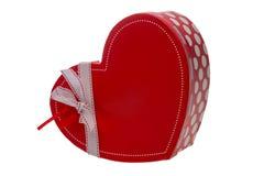 Caja como corazón Imagen de archivo libre de regalías