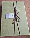 Caja con los presentes fotografía de archivo