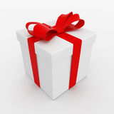 Caja con un regalo Foto de archivo libre de regalías