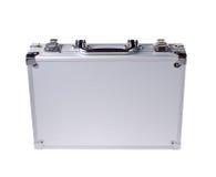 Caja de acero aislada fotografía de archivo libre de regalías