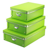 Caja de almacenamiento Foto de archivo