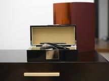 Caja de almacenamiento de lujo Fotos de archivo libres de regalías