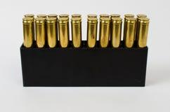 Caja de balas Imágenes de archivo libres de regalías
