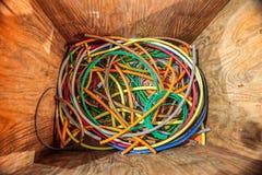Caja de cable Fotos de archivo