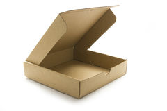 Caja de Carboard Fotografía de archivo