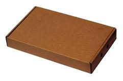 Caja de cartón Imagen de archivo libre de regalías