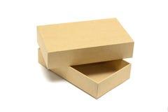 Caja de cartón Imagen de archivo