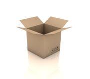 Caja de cartón libre illustration