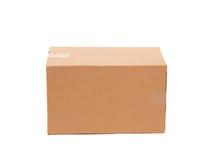 Caja de cartón acanalado Imágenes de archivo libres de regalías