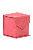 Caja de cartón roja del regalo. Fotografía de archivo libre de regalías