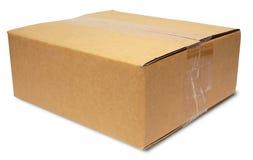 Caja de cartón sellada Imagenes de archivo