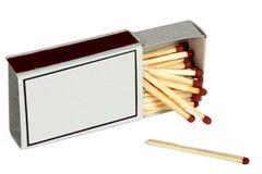 Caja de cerillos () fotografía de archivo libre de regalías