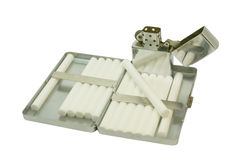 Caja de cigarrillo 2 foto de archivo libre de regalías