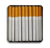 Caja de cigarrillo fotos de archivo libres de regalías