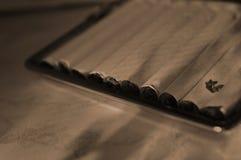 Caja de cigarrillo imágenes de archivo libres de regalías