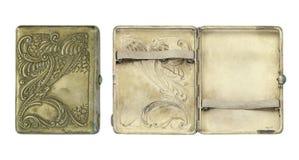 Caja de cigarrillo del vintage Fotos de archivo libres de regalías