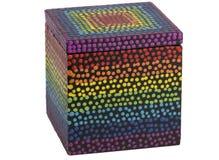 Caja de color fotos de archivo libres de regalías
