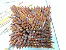 Caja de colores Imágenes de archivo libres de regalías