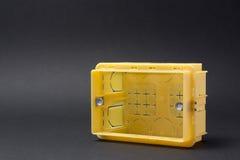 Caja de conexiones Foto de archivo