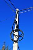 Caja de conexiones de la electricidad Fotos de archivo libres de regalías