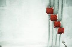 Caja de conexiones eléctrica Imagen de archivo libre de regalías