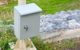Caja de control para la lámpara ENCENDIDO-APAGADO Fotos de archivo