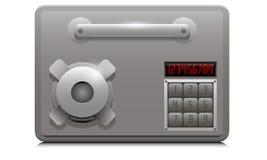 Caja de depósito de seguridad Foto de archivo