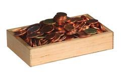 Caja de dinero Fotografía de archivo