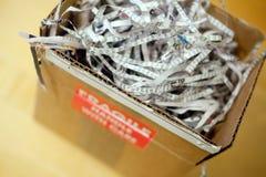 Caja de embalaje Fotos de archivo libres de regalías