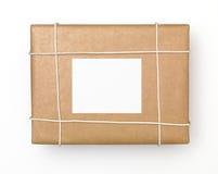 Caja de envío Imagenes de archivo