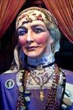 Caja de fortuna antigua del carnaval Fotos de archivo libres de regalías
