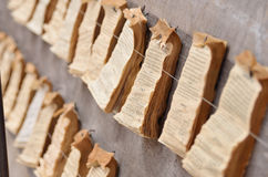 Caja de fortuna de papel Foto de archivo