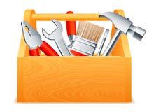 Caja de herramientas. Imagenes de archivo