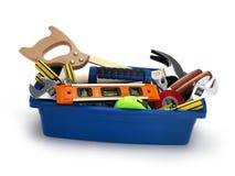 Caja de herramientas Foto de archivo libre de regalías