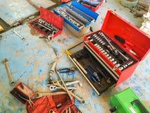 Caja de herramientas Fotos de archivo libres de regalías