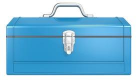 Caja de herramientas azul Fotografía de archivo