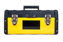 Caja de herramientas del garaje workisolated Foto de archivo