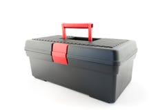 Caja de herramientas negra Imagen de archivo