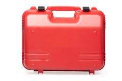 Caja de herramientas plástica Imágenes de archivo libres de regalías